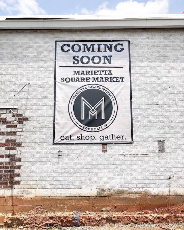 Marietta Square Market Branding | Clementine Creative Agency