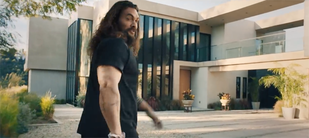 Jason Momoa in Rocket Mortgage Commercial