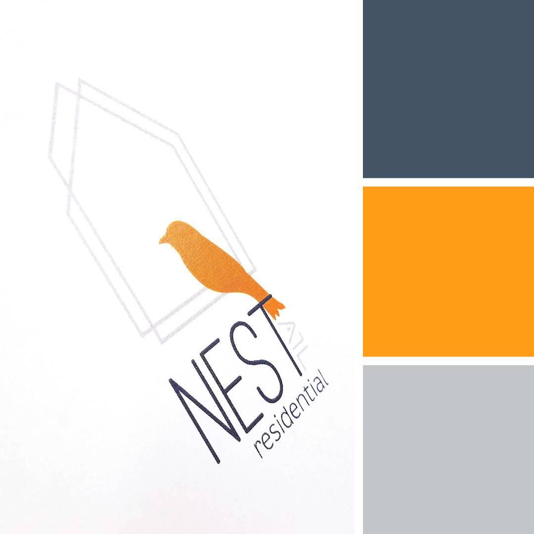 Nest Residential Logo | Branding by Clementine Creative Agency | Marietta, GA