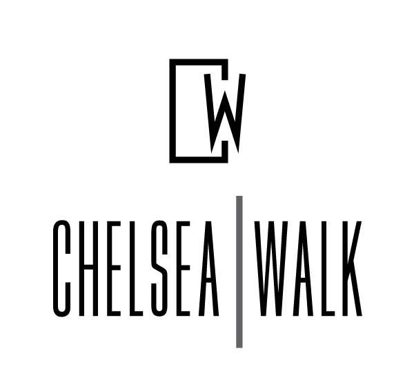 Chelsea Walk Logo Identity Design