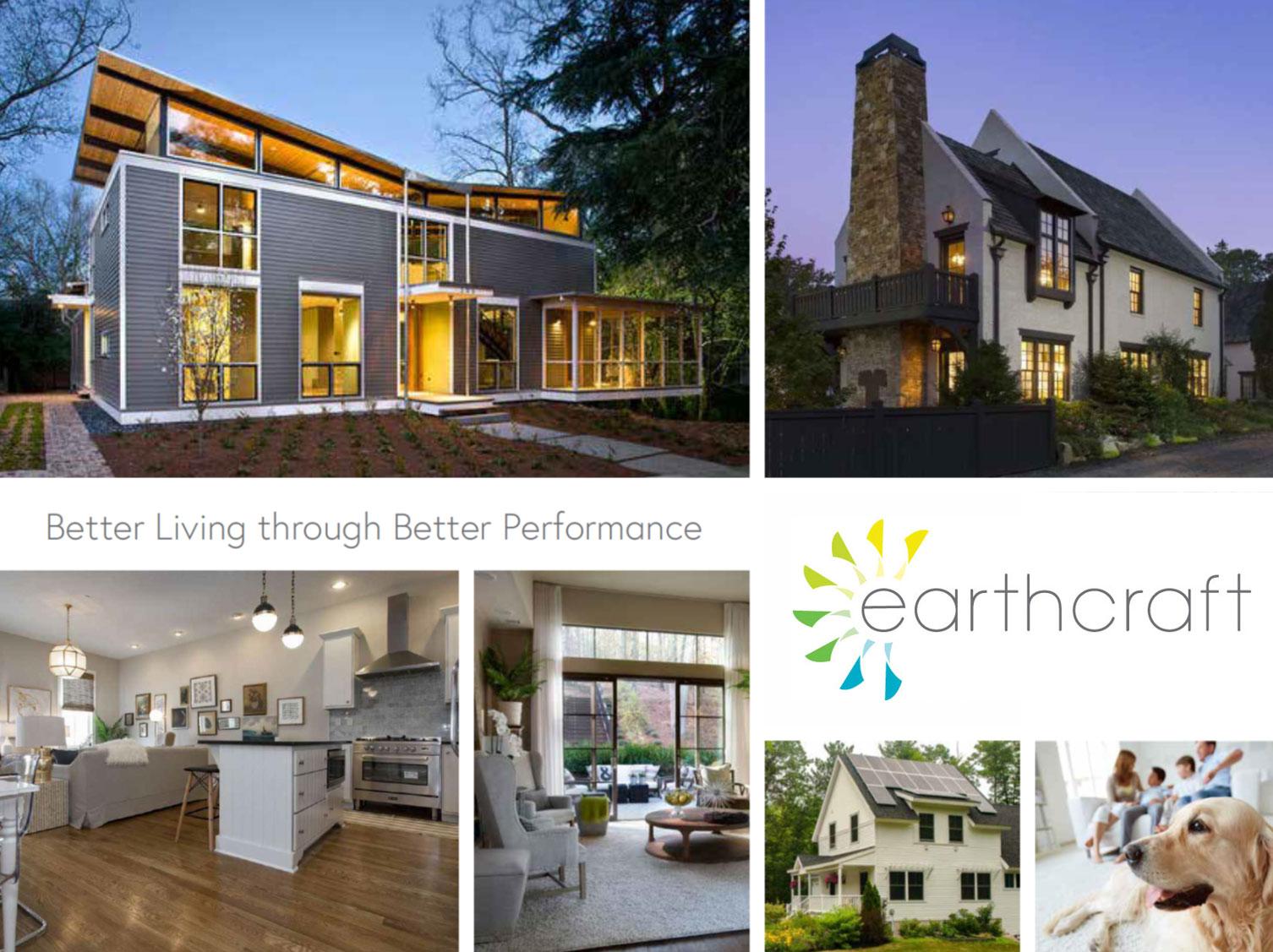 Earthcraft Branding Usage Concept | Designed by Clementine Creative Agency | Marietta, GA