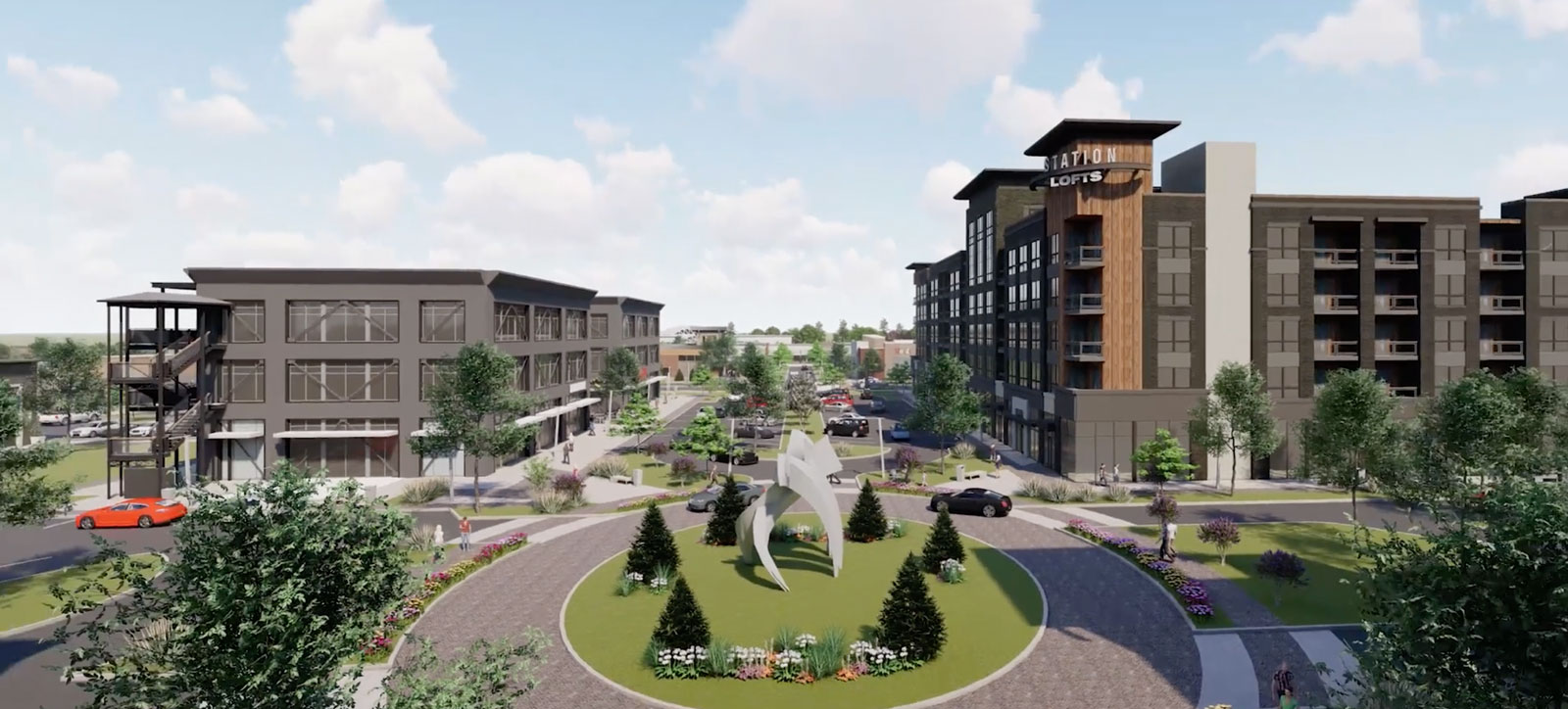 Exchange at Gwinnett Rendering | Marketing by Clementine Creative Agency