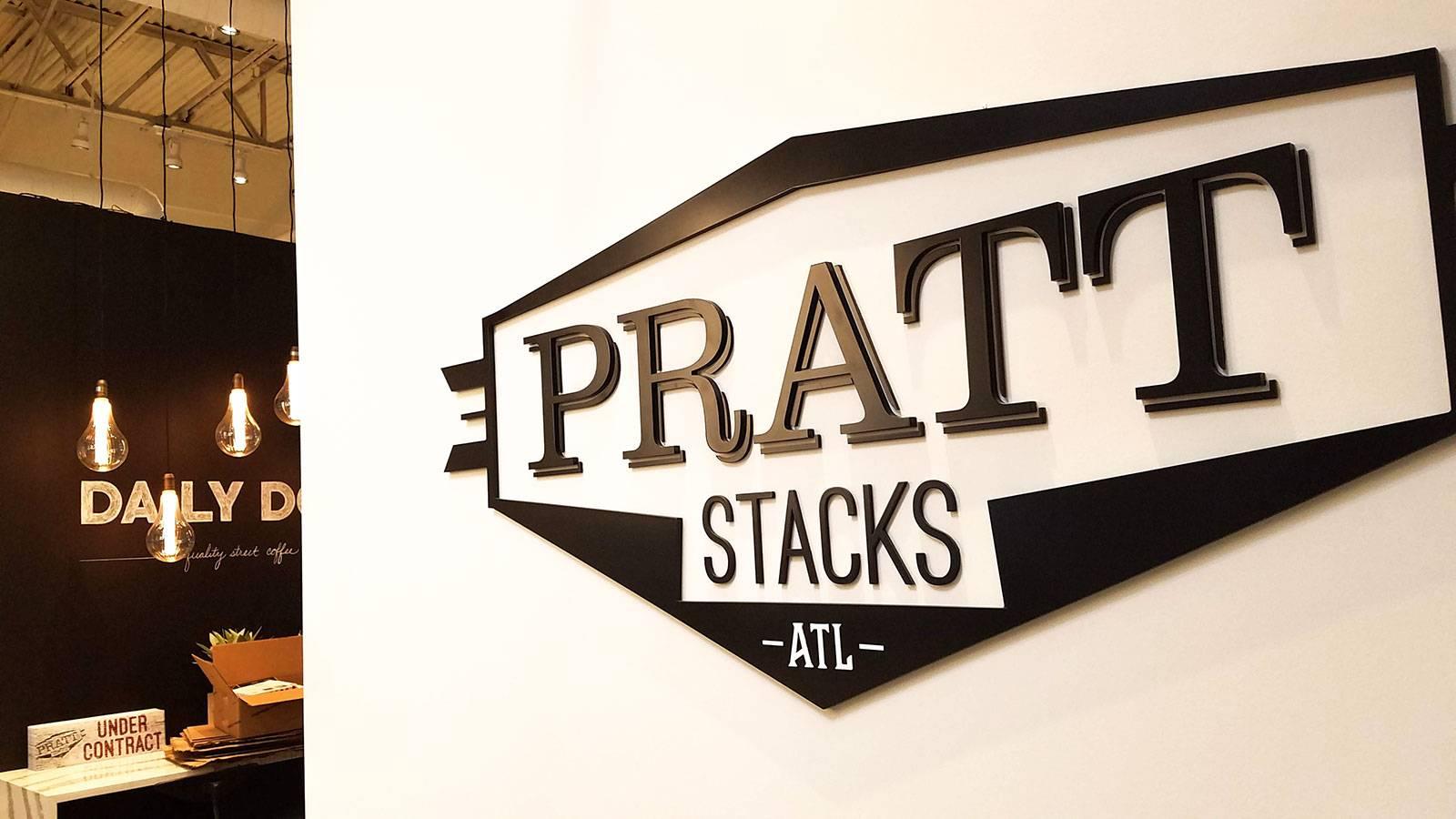 Pratt Stacks | Logo Identity Design by Clementine Creative Agency | Atlanta, GA