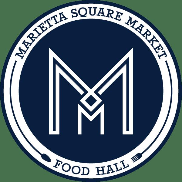 Marietta Square Market Logo | Clementine Creative Agency | Marietta, GA