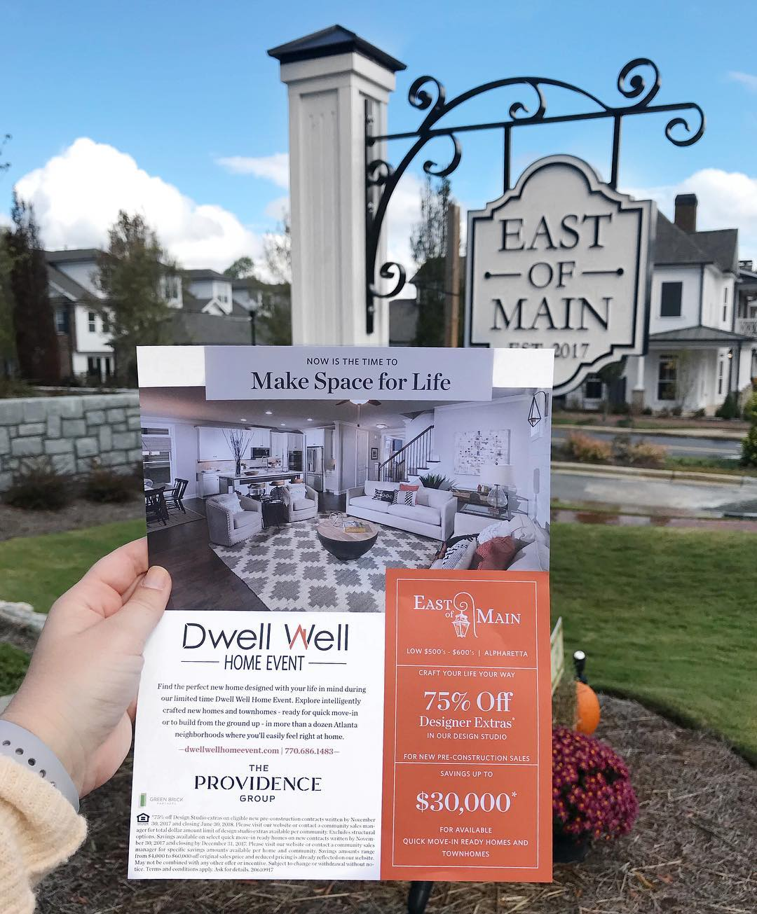 Dwell Well Home Event | Branding and Marketing Campaign by Clementine Creative Agency | Marietta, GA