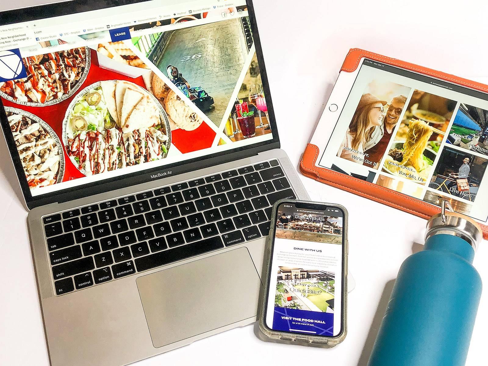 The Exchange at Gwinnett   Custom Website Design and Development by Clementine Creative Agency   Atlanta, GA
